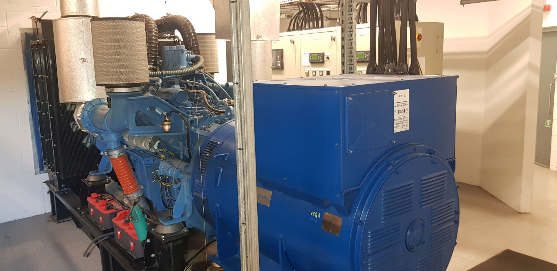 Generator installation by Generated Power Services Ltd