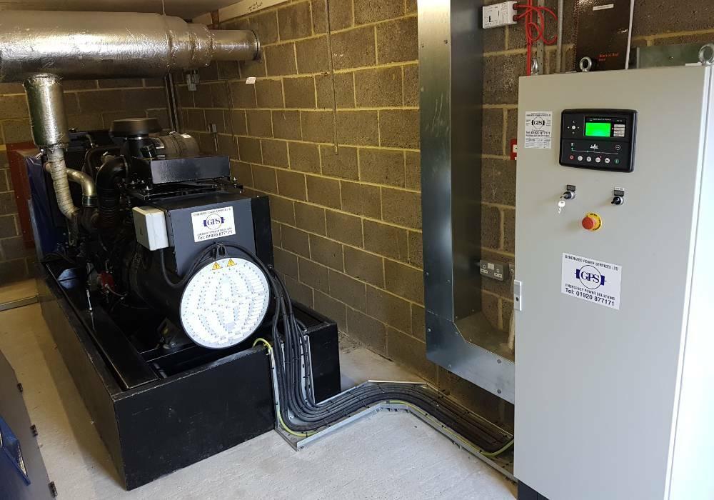 Power generator installation London