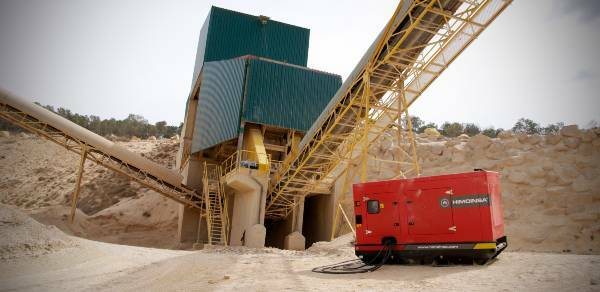Diesel generator rental