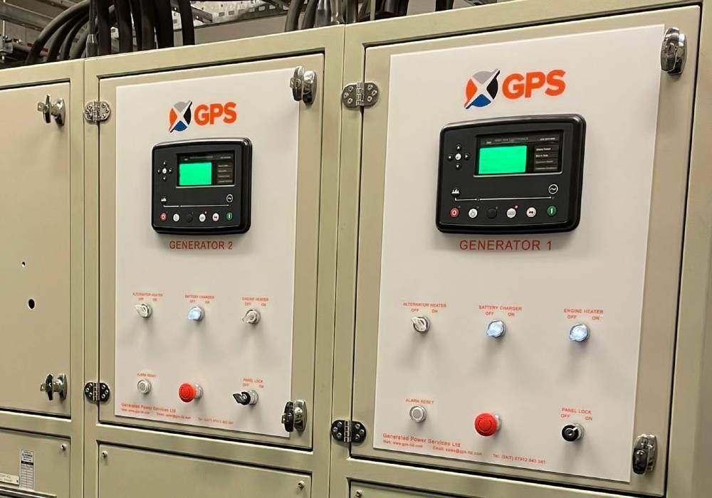 Generator syncronising control upgrade