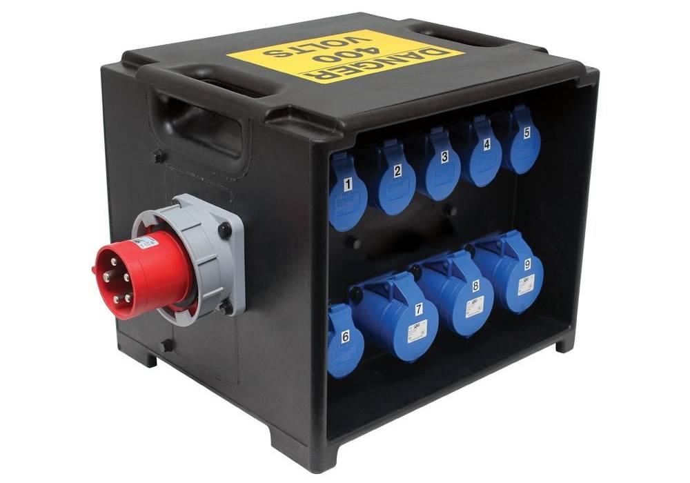 Power generator sales hire distribution box